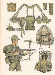 M 1956 LOAD- CARRYNG EQUIPEMENT (LCE ).
