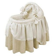 Baby Doll Lime Wonders Bassinet Set | Overstock.com Shopping - The Best Deals on Bassinets