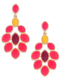 Our neon round earrings... a @birchbox pick, from 3/9/12!