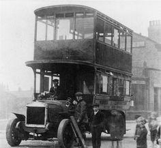commer double deck bus - widnes corporation Vintage Cars, Antique Cars, Bus City, Buses And Trains, Double Decker Bus, Bus Coach, Busses, Public Transport, Old Cars