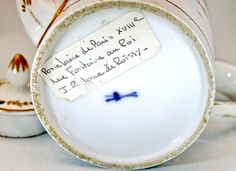 Petite Theiere Litron EN Porcelaine DE Paris Manufacture DE Locre EP 18E | eBay Haut. 12,5 cm Long. 16,7 cm