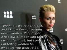 And honest about what her message to everyone is. | 33 Reasons Miley Cyrus Was Actually The Best Thing To Happen To 2013
