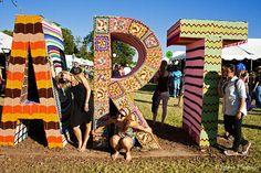 Knitta Please, Austin City Limits Music Festival 2010 by Steve Hopson, via Flickr