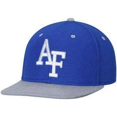 3c899a7890e Air Force Falcons Letterman Adjustable Snapback Hat - Royal