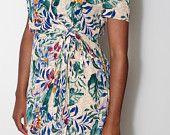 $12.00 Floral Wrap Dress