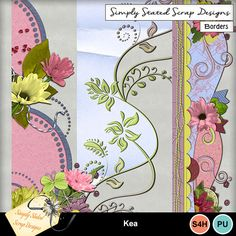 Pack of 3 Borders for the Kea kit. Personal & Scrap for Hire use only. Full size. 300dpi. #mymemories #mymemoriessuite #scrapbooking #digitalscrapbooking #digiscrapbooking