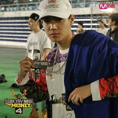 Jung Jaewon (aka 1 from 1Punch) passing the audition round on Show Me The Money 4.This boy is killin it so far,super talented.Can't wait to see more from him. #smtm4 #Jaewon #1Punch