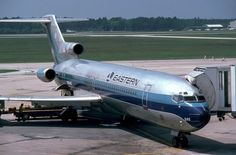 Eastern Airlines Boeing at gate Boeing 727 200, Jet Airlines, Airport Photos, Gas Turbine, Passenger Aircraft, Aviation Industry, Airline Flights, Civil Aviation, Commercial Aircraft