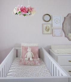This twin nursery is