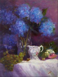 "Daily Paintworks - ""Quiet Elegance, 18x24, oil on linen, award-winning paintings"" - Original Fine Art for Sale - © Maryanne Jacobsen"