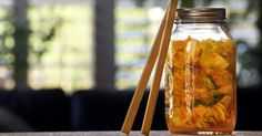 Kimchi is spicy hot — and we're not just talking about its flavor. The fermented dish has been steadily gaining in popularity since it originated in 7th Century Korea. Now you can make your own with this handy dandy, healthy recipe guide to DIY Kimchi.