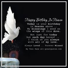 Always Loved Forever Missed - Happy Birthday In Heaven | all-greatquotes.com