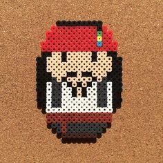 Jack Sparrow perler beads by tsubasa.yamashita