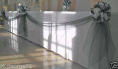 25th Anniversary Decorations | Wedding-Anniversary-25th-30th-40th-50th-60th-table-decorating-bows ...