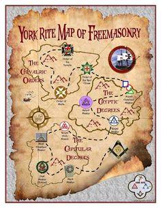 York Rite. ¥€¥ Masonic Art, Masonic Lodge, Masonic Symbols, Masonic Order, Freemason Symbol, Eastern Star, Women In History, British History, Ancient History