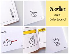 Ideas Doodles Bullet Journal