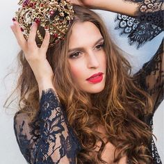 Don't forget to wear your crown today. Have a lovely day! 👑 bellabellaboutique.com #lingerielove #lingerielife #lingeriestyle #bella #beautiful #blacklace #crown #loveit #inspiration #fashionable #lingerieshop #bellabellaboutique