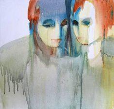 "Saatchi Art Artist Sylvia Baldeva; Painting, ""Secret - oil on canvas"" #art"