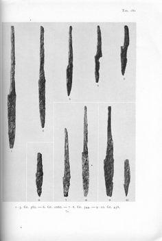 Holger Arbman - Birka I knife blades