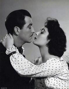Robert Taylor & Elizabeth Taylor