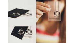 transparent clear business cards Photography Presentation USB :: Pretty Little Packaging Transparent Business Cards, Clear Business Cards, Examples Of Business Cards, Plastic Business Cards, Photography Branding, Photography Business, Creative Photography, Free Photography, Business Card Design