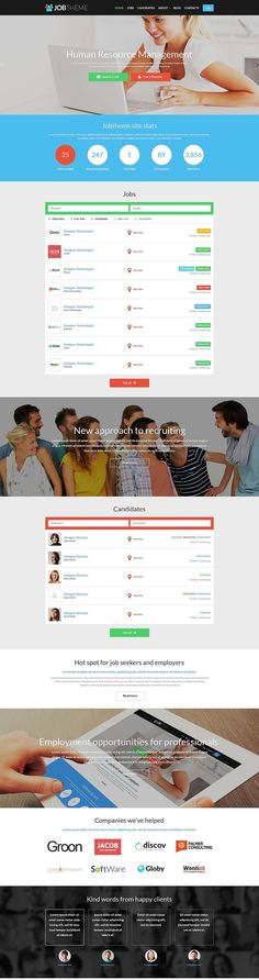 Job Portal Responsive WordPress Theme http://www.templatemonster.com/wordpress-themes/52112.html?utm_source=PinterestM&utm_medium=timeline&utm_campaign=52112djp