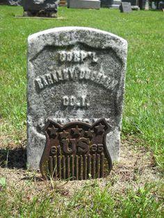 Corp'l Barnaby DuCharme, Veteran, Civil War, 48th Wisc. Inf., Co. I, St. Gabriel's Cemetery, Prairie du Chien, Wisconsin by Adoremus_in_aeternum, via Flickr
