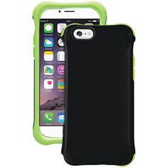 Ballistic Ur1413-A89C Iphone(R) 6/6S Urbanite(Tm) Glow Case (Black/Green)