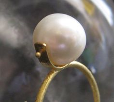 18 K GOLD RING WITH PEARL @sun San @piscesandfishes @GreekMythos GreekMythos GreekMythos GreekMythos GreekMythos GreekMythos GreekMythos