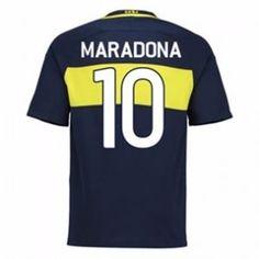 16-17 Boca Junior Home #10 Maradona Cheap Replica Jersey [G00795]