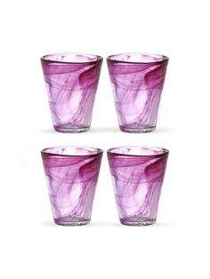 Kosta Boda  Mine Tumbler (Set of 4)  $60