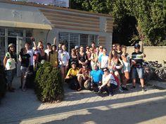 MEGA at an expedition to Bender, Moldova.