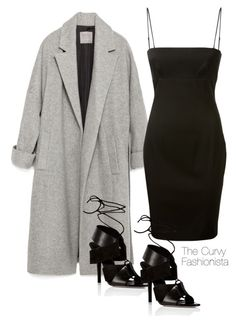 """""""Untitled #576"""" by thecurvyfashionista ❤ liked on Polyvore featuring Zara and Alexander Wang"""