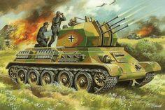 Flakpanzer T-34r