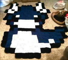 Post with 0 votes and 76 views. Dratini Pixel Blanket (old x-post from r/Pokemon) Crochet Square Blanket, Crochet Blanket Patterns, Crochet Afghans, Crochet Rugs, Crochet Granny, Crochet Monsters, Crochet Animals, Pokemon Blanket, Granny Square Projects