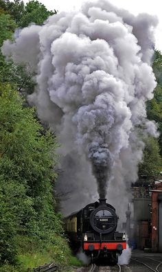 Leaving Grosmont | by dave hewitt63   - North Yorkshire Moors Railway  Grosmont is also the northern terminus for the North Yorkshire Moors Railway, a preserved Steam railway, which travels through some breath taking scenery to reach Pickering some 18 miles away.