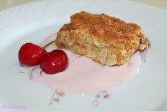 Brownie de chocolate blanco en nuestro blog Biendespachao.