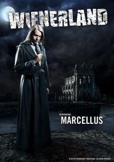 Marcellus - Wienerland Movies, Movie Posters, Character, Films, Film Poster, Cinema, Movie, Film, Movie Quotes