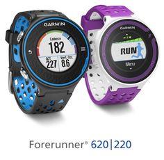 Garmin Forerunner 620 And 220 GPS Watches Announced