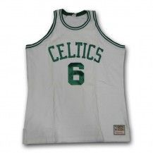 cheap for discount 62f2a 12e0d boston celtics bill russell 6 green authentic jersey sale