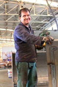 Emanuele: verniciatore  La soddisfazione di aver fatto un ottimo lavoro / The satisfaction to have done a good job