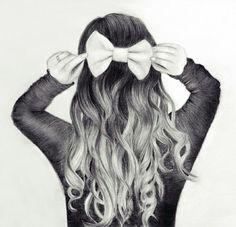 Back hair nice