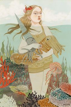 Whimsical Illustrations by Rebecca Green | Inspiration Grid | Design Inspiration