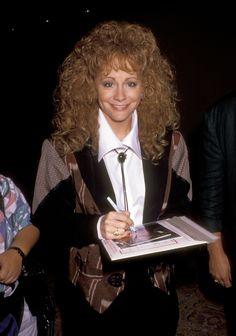 Reba McEntire 1991-07-29  NBC Fall TCA Press Tour