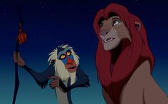 "The Lion King ""Looks like the winds are changing."" الأسد الملك"