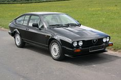 Alfa Romeo GTV6 2.5 - I had one of these in goldish color