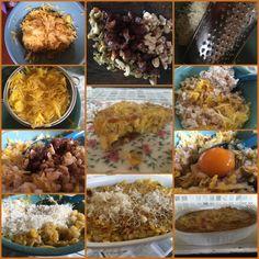 Backtoeden: Torta de arroz y calabacín Cereal, Chicken, Meat, Breakfast, Ethnic Recipes, Food, Food Cakes, Lunches, Ethnic Food