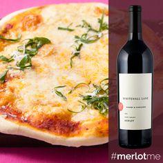Pizza and Merlot... Mmm.