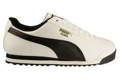 PUMA Roma Basic white/black Men's Lifestyle Shoes 08.0 - Shoes ...