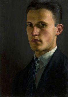 "John Luke - ""Self-Portrait"" 1928, Irish"
